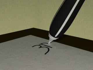stylo qui ecrit tout seul